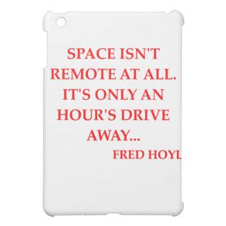 fred hoyle quote iPad mini case
