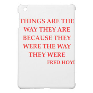 fred hoyle quote case for the iPad mini