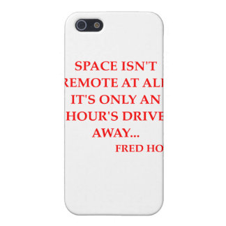 fred hoyle quote cases for iPhone 5