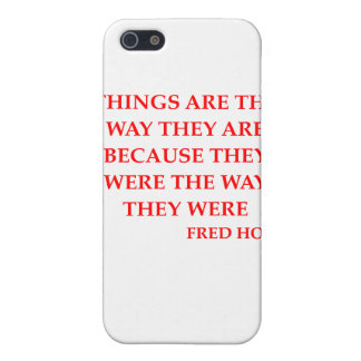 fred hoyle quote cover for iPhone 5