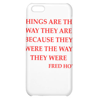 fred hoyle quote iPhone 5C cover