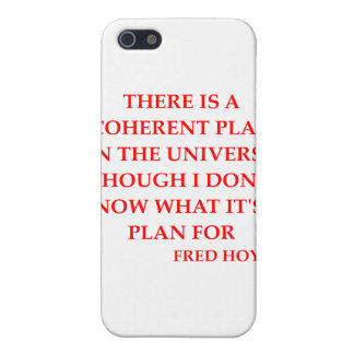 fred hoyle quote case for iPhone 5