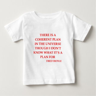 fred hoyle quote tee shirt