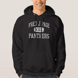 Fred J Page - Panthers - Middle - Franklin Hoodie