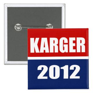 FRED KARGER 2012 PINS