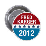 FRED KARGER | BUTTON