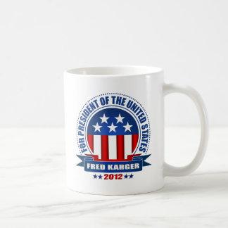 Fred Karger Coffee Mug