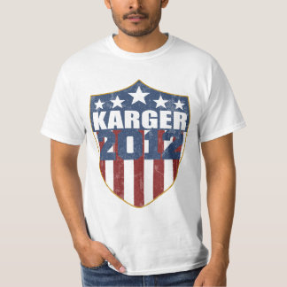 Fred Karger for President in 2012 T-Shirt