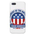 Fred Karger iPhone 5 Cárcasa