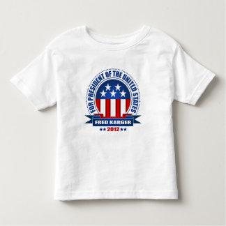 Fred Karger Toddler T-shirt
