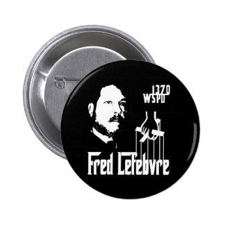 Fred Lefebvre Pin Redondo 5 Cm