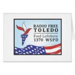Fred libre de radio tarjetas