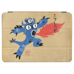 iPad Air Cover with Fred Monster Stylized design