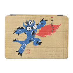 iPad mini Cover with Fred Monster Stylized design