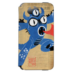 Incipio Watson™ iPhone 6 Wallet Case with Fred Monster Stylized design