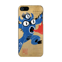 Incipio Feather Shine iPhone 5/5s Case with Fred Monster Stylized design