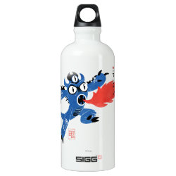 SIGG Traveller Water Bottle (0.6L) with Fred Monster Stylized design
