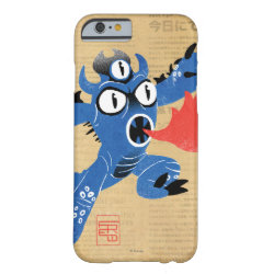 Case-Mate Barely There iPhone 6 Case with Fred Monster Stylized design