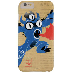 Case-Mate Barely There iPhone 6 Plus Case with Fred Monster Stylized design