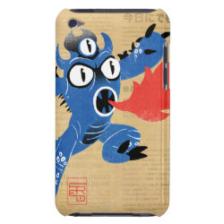 Case-Mate iPod Touch Barely There Case with Fred Monster Stylized design