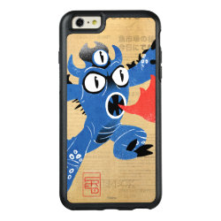 OtterBox Symmetry iPhone 6/6s Plus Case with Fred Monster Stylized design