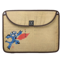 Macbook Pro 15' Flap Sleeve with Fred Monster Stylized design