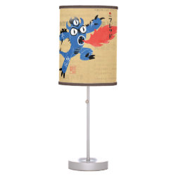 Table Lamp with Fred Monster Stylized design