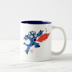 Two-Tone Mug with Fred Monster Stylized design