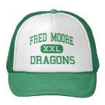 Fred Moore - dragones - High School secundaria - D Gorra