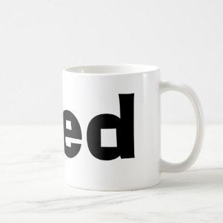 Fred Classic White Coffee Mug