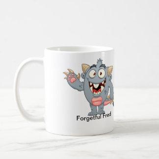 Fred olvidadizo taza clásica