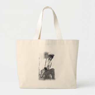 Fred Sheppard by Hart-pencil sketch Bags