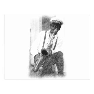 Fred Sheppard por bosquejo del Ciervo-lápiz Postal