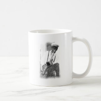 Fred Sheppard por bosquejo del Ciervo-lápiz Tazas De Café