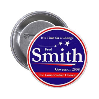 Fred Smith Pinback Button