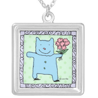fred spreads joy silver amulet pendant