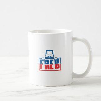 FRED TAZA DE CAFÉ