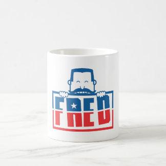 FRED TAZAS DE CAFÉ