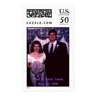 Fred & Terri Jones---1, Fred & Terri Jones May ... Postage
