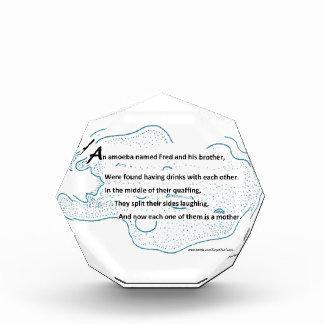 Fred The Amoeba - A SmartTeePants Science Poem Acrylic Award