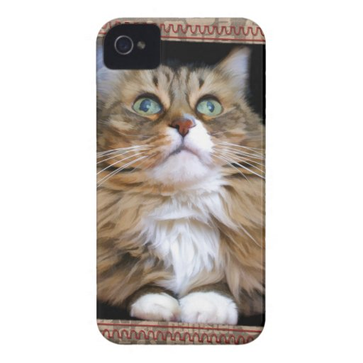 Fred the Cat iPhone 4 barely there QPC iPhone 4 Case