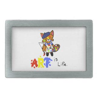 Fred the Fox- Artist Belt Buckle