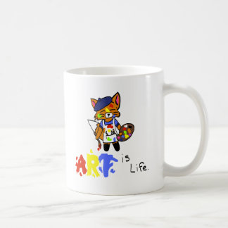 Fred the Fox- Artist Coffee Mug