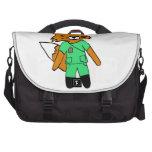 Fred the Fox- Nurse Computer Bag