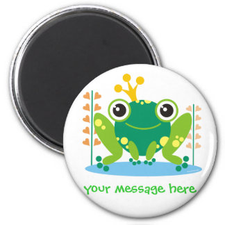 Fred the Froggy Customizable Magnet