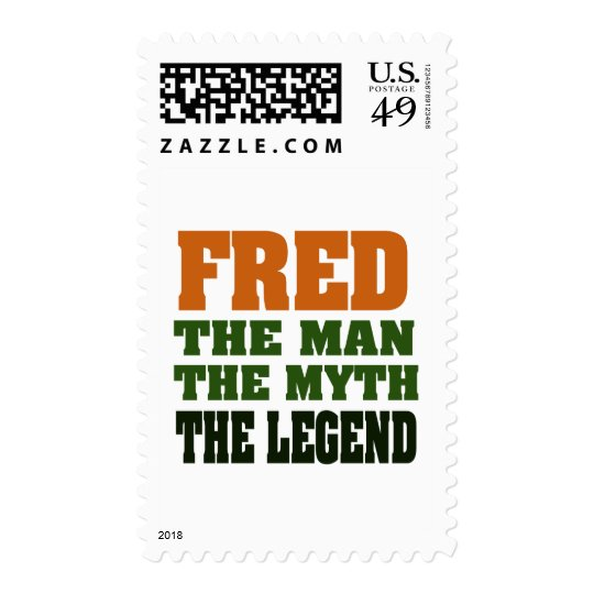 Fred - the Man, the Myth, the Legend! Postage
