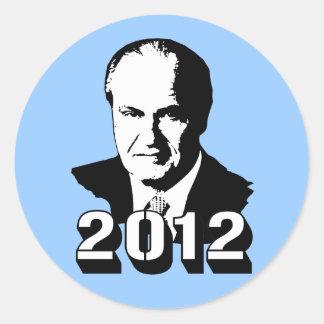 Fred Thompson 2012 Sticker