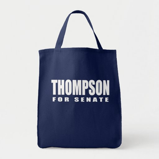 FRED THOMPSON Election Gear Grocery Tote Bag