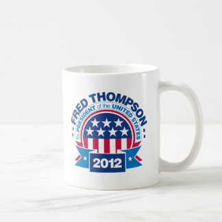 Fred Thompson for President 2012 Classic White Coffee Mug