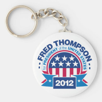 Fred Thompson for President 2012 Keychain
